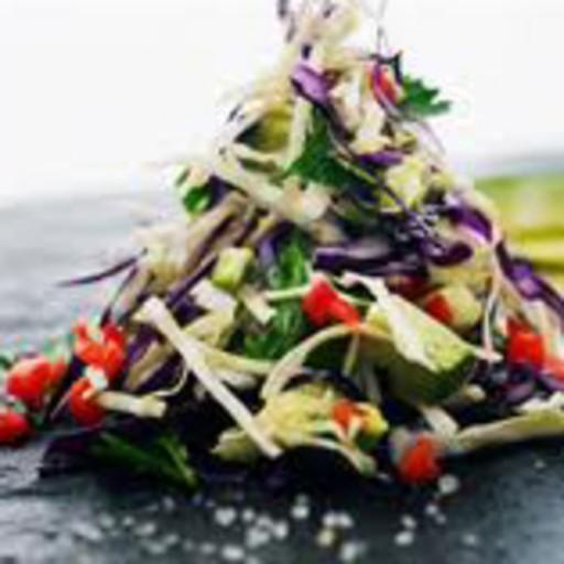 Hemp, Pepper & Avocado Salad